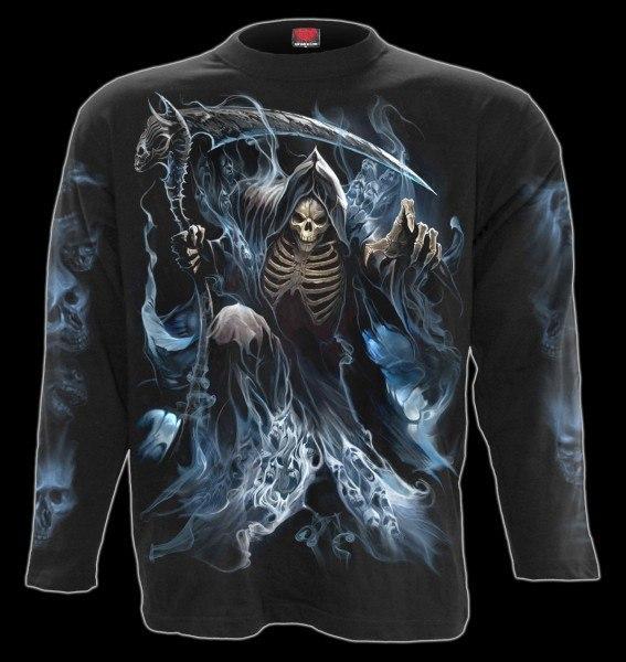 Langarmshirt Fantasy Skelett - Ghost Reaper