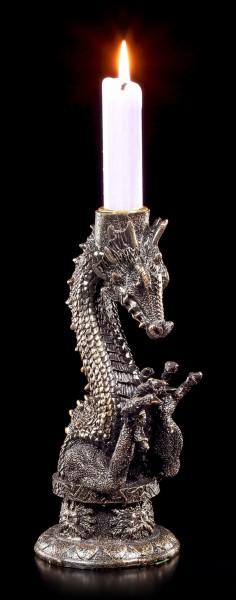 Drachen Kerzenständer - Schattenlicht