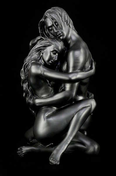 Akt Figur - Erotisches Liebespaar - Lovers Embrace