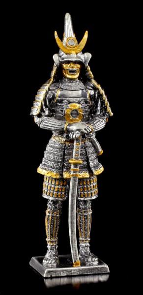 Japanischer Samurai Jutaro mit Katana - Zinn Figur