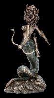 Medusa Figurine with Snake Bow