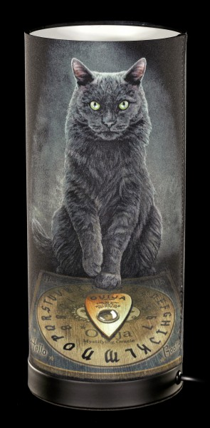 Tischlampe mit Katze - His Master's Voice
