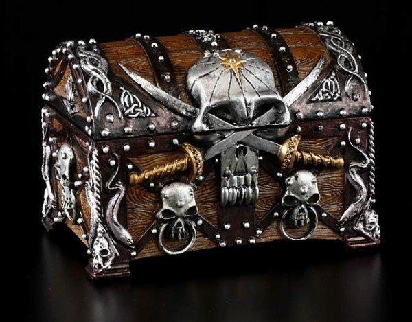 Pirates Skull Chest