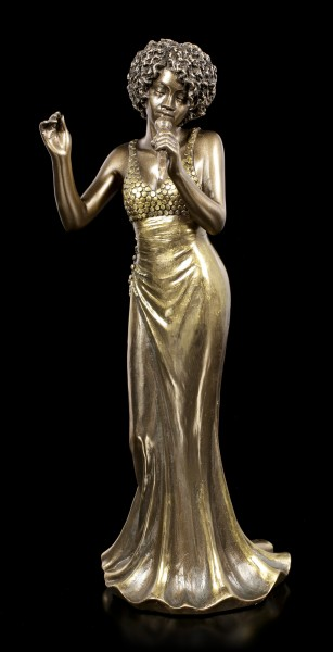Female Jazz Singer Figurine