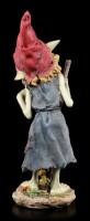 Pixie Figurine - Girl with Mushroom