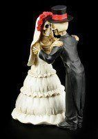 Skelett Brautpaar Figur - Endless Love