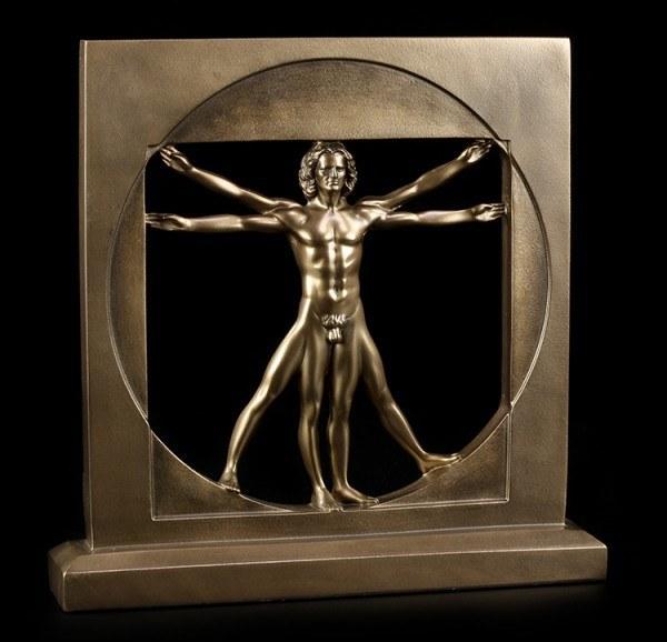 Vitruvian Man Figurine