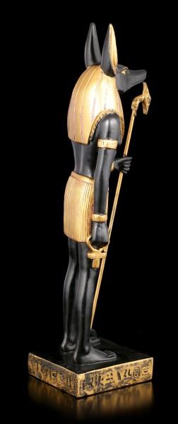 Anubis Figurine standing with Rod