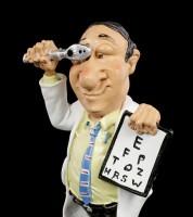 Funny Job Figur - Augenarzt mit Ophthalmoskop