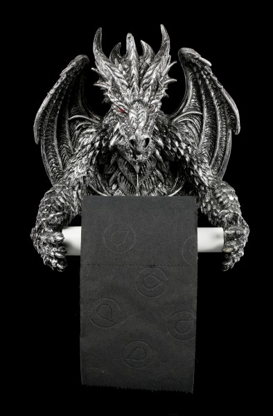Toilet Paper Holder - Obsidian Dragon