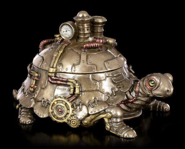 Steampunk Figurine - Tortoise Box