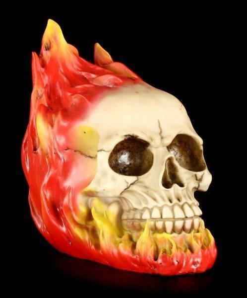 Skull - Burn in Hell