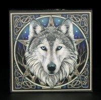 Wolf Box with Mirror - The Wild One