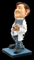 Funny Job Figurine - Doctor with Clipboard