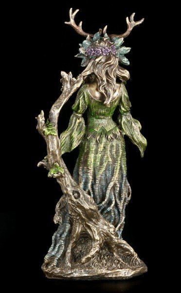 Wiccan Goddess Figurine - Lady Of The Forest