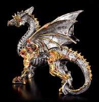 Steampunk Dragon Figurine - Dracus Machina