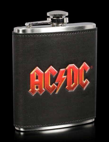 Hip Flask with AC/DC Logo