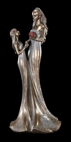 Bride Figurine with Bridesmaid