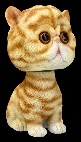 Bobble Head Figurine - Cat Bob Puss