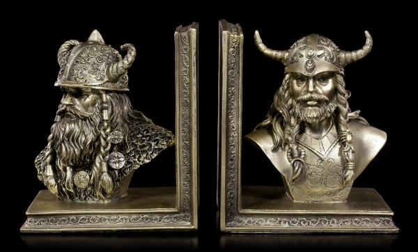 Viking Bookends