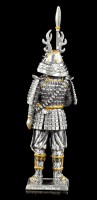 Japanese Samurai Warrior Fumisato - Pewter Figurine