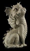 Garden Figurine - Dragon Look Up
