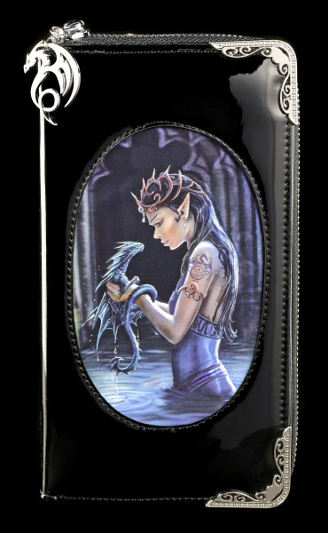Gothic Purse with 3D Picture - Water Dragon