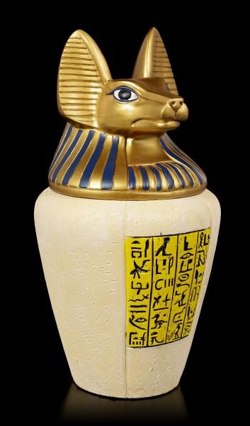 Large Anubis Canopic Jar