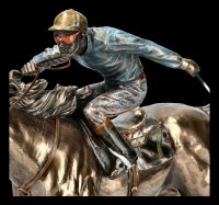 Jockey Figur - Reiter Nr. 7