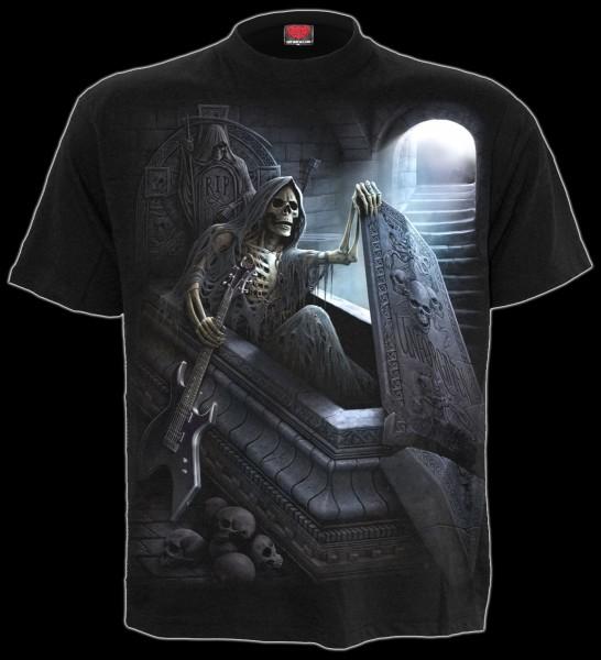 Spiral Skelett Reaper T-Shirt - Unforgiven