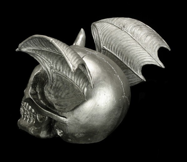 Totenkopf - Dämon mit Flügeln