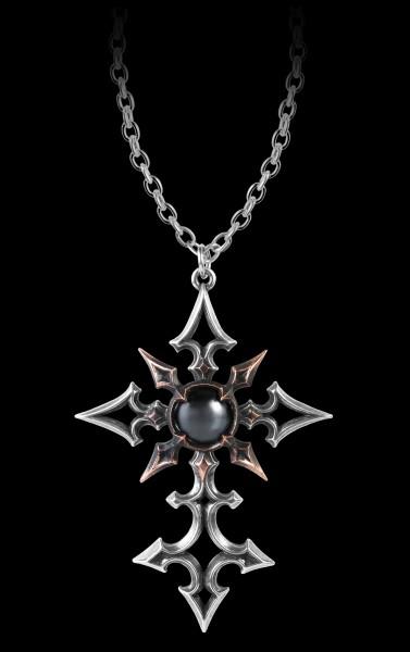 Alchemy Gothic Kreuz Halskette - ChaoCrucis