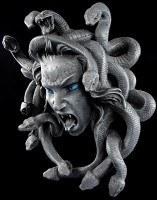 Medusa Wandrelief mit Schlangen