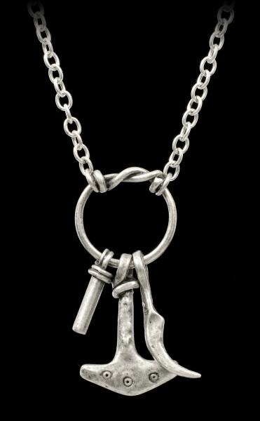 Alchemy Gothic Necklace - Tors Magiska Amulet