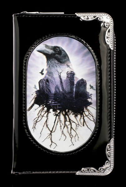 Fantasy Purse with 3D Raven - The Seer - small