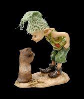 Pixie Kobold Figur - Täglich grüßt das Murmeltier