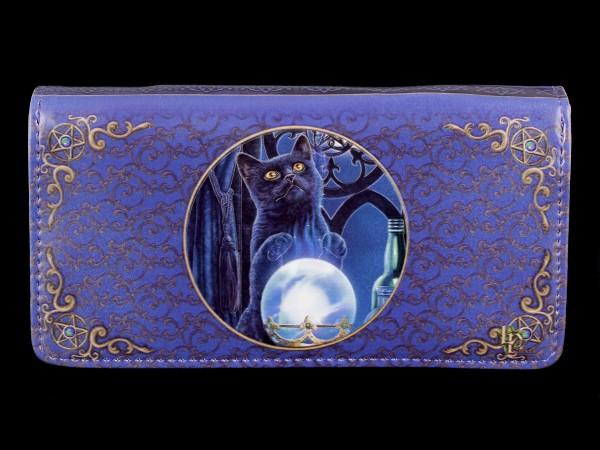 Geldbörse mit Katze - The Witches Apprentice - geprägt