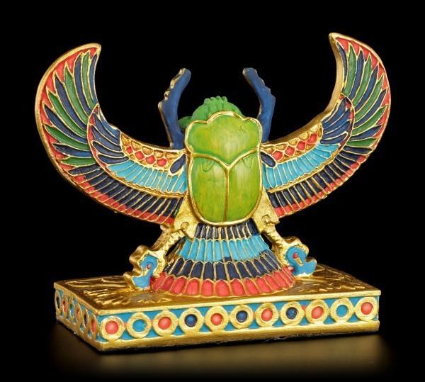 Ägyptische Figur - Skarabäus stehend