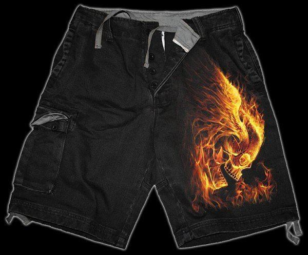 Shorts - Burn in Hell