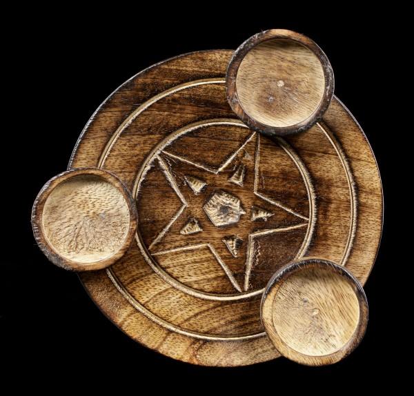 Tealight Holder - Pentagram