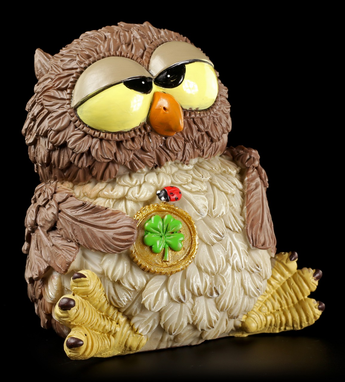 Funny Owl Money Bank -