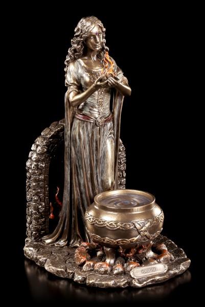 Keltische Brigid Figur - Göttin des Heims und des Herds