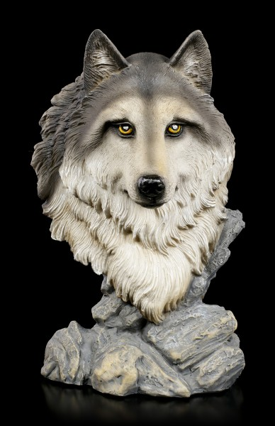 Wolf Bust - Spirit of Freedom