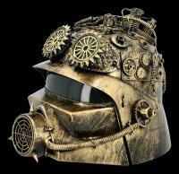 Steampunk Helmet - Alien