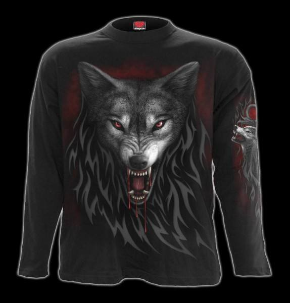 Langarmshirt - Tribal Wolf - Legend of the Wolves