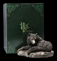 Wolf Figurine - Guardian of the North - bronzed