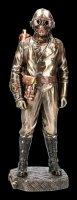 Steampunk Figur - Soldat mit Gasmaske