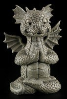 Garden Figurine - Dragon Meditation