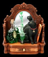 Cat Figurine - Absinthe by Lisa Parker