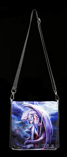 Shoulder Bag - Dragon Mage - embossed